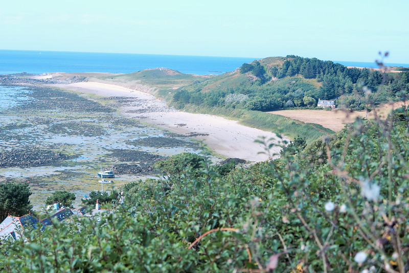 Fishermans Beach - look at that little cottage to the right