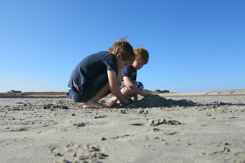Willaim & Toby - Vazon Bay