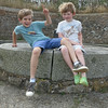 Coastal defences - Vazon Bay - William & Toby