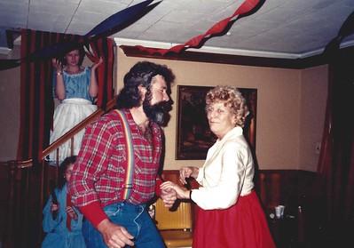 John dances with Mom