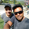 Me and Manish on the way upto Manali,