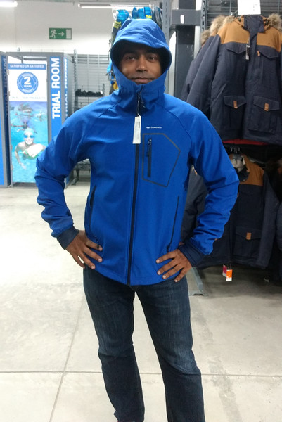 Gear check at Decathlon! Check!