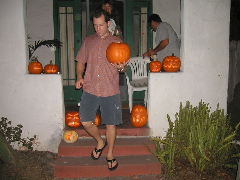 Pumpkin Carving before the big night