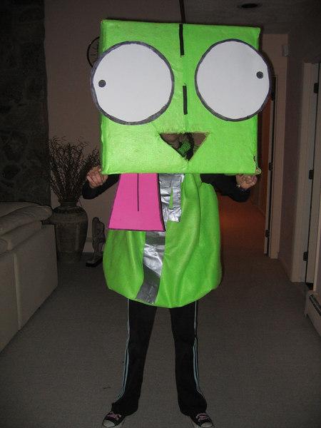 Lauren's GIR costume