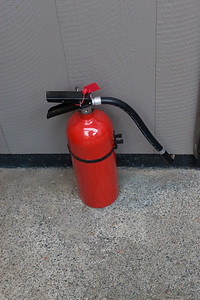 Given the nature of the entertainment, fire extinguishers were the order of the day.