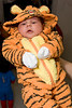 Hardly two weeks old, Dean Enosse is ready for his first Hallowe'en