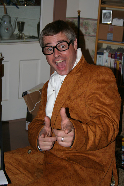 John as Austin Powers