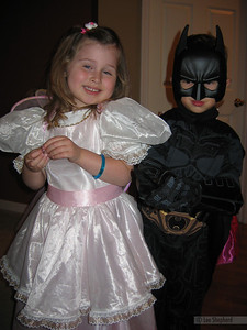 Batman and his fairy princess