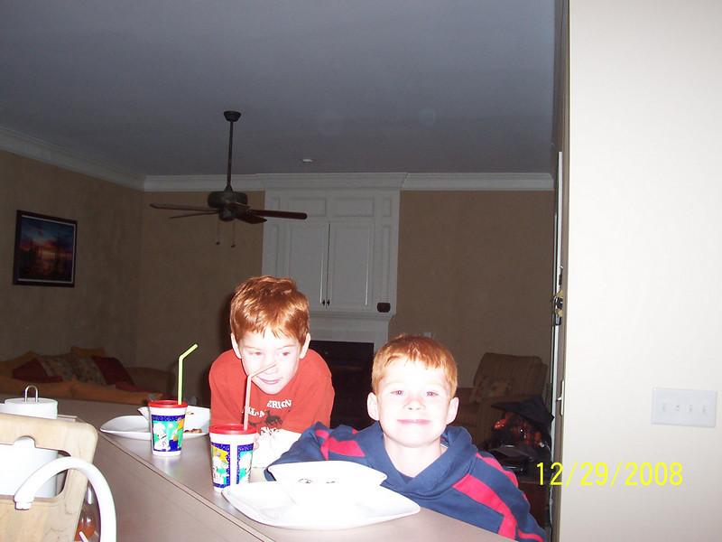 Brandon & Zach wanting more Cupcakes