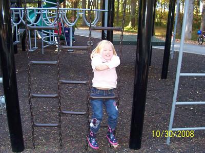 Ashley just hanging around