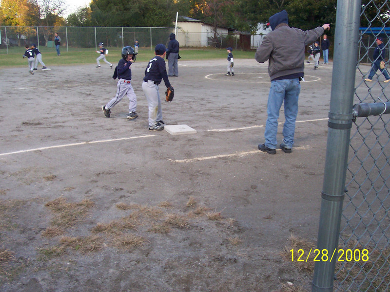 Zach Steals Third Base!!!!!!