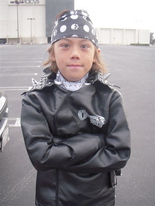 Cameron the biker dude