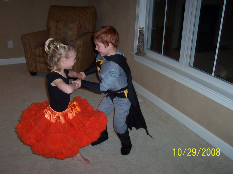 They could have danced all night.  But, mom and dad sent them to bed.