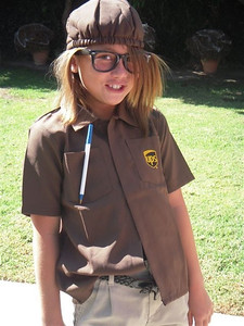 Emi the UPS girl