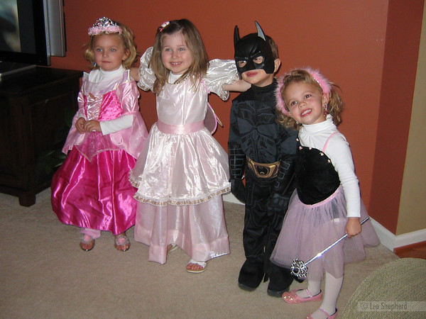 Livvy, Madeline, Andrew and Katherine.