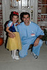 Snow White and 'Dr. Daddy' (Hannah's name, not mine) before the Father - Daughter dance.