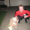 Cooper & Daddy out trick or treating