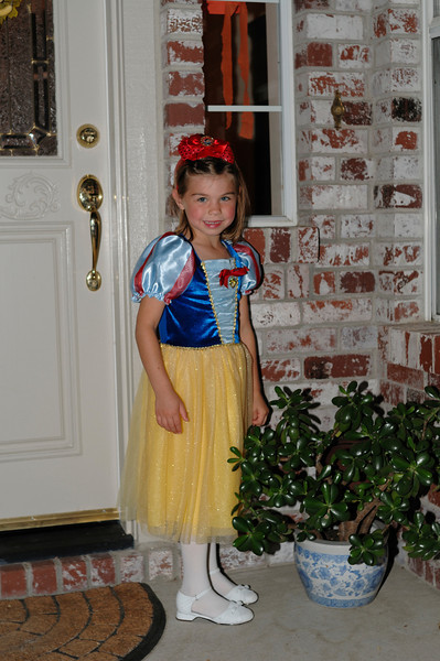Princess Snow White before the Father-Daughter dance