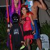 The Halloween family.