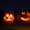Someone enjoyed their pumpkin carving time.