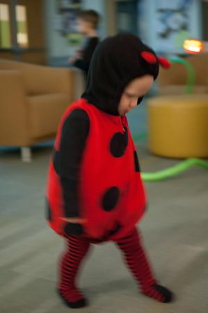 Halloween party at school.