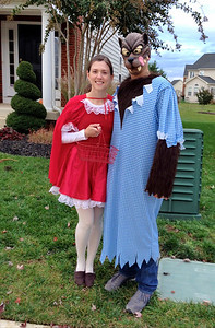 Little Red Riding Hood and her Big Bad Wolf