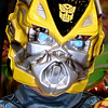 Nithil Krishnaraj, 8, Batesville, as Transformer Bumble Bee