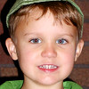 Calvin Padgett, 5, Batesville, as Peter Pan