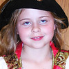 Lexi Scheiner, 8, Batesville, as The Pirate