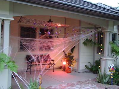 Halloween Decorating - 2008