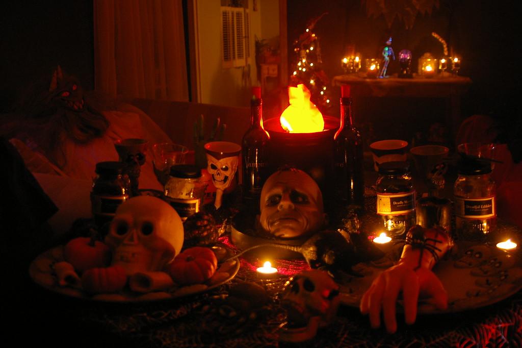 Happy Halloween-dinner anyone?