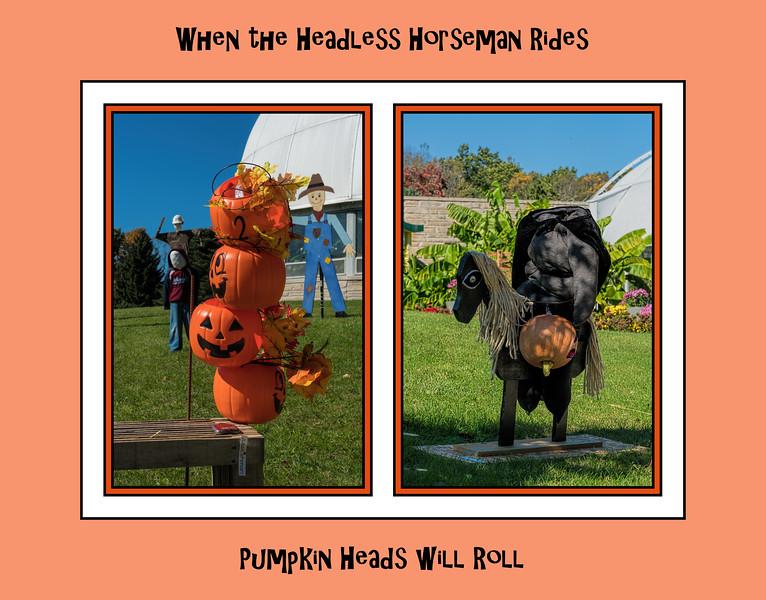 Pumpkin Heads and a Halloween Headless Horseman (SC-1 2017-10-28)
