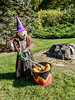 Witch and her cauldron