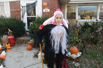 Halloween in Arlington Heights 2012