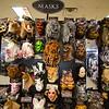 Merchandise for sale at Spirit Halloween in Lunenburg on Friday afternoon. SENTINEL & ENTERPRISE / Ashley Green