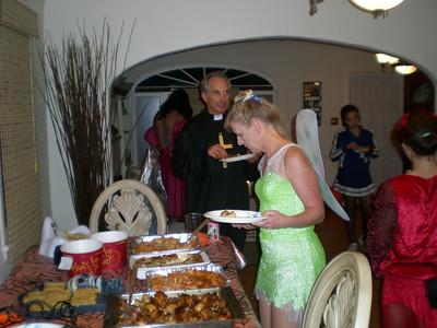 A full buffet!