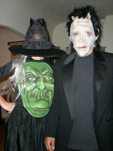 Bride & Frankenstein