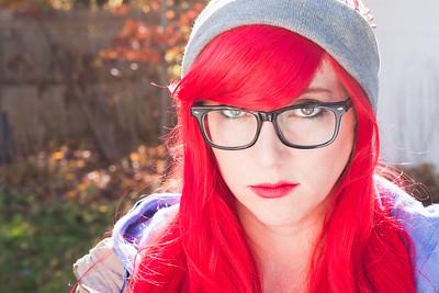 Halloween 2015: Hipster Ariel.