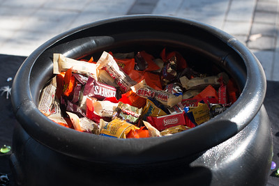 Getting ready for trick or treaters!