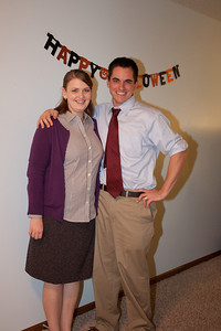 Molly and Jordan as Pam and Jim.