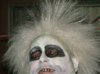 Ed as Beetlejuice.
