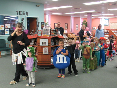 Halloween at Your Library 2016