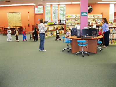 Halloween @ your library 2011
