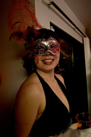 The mask is an authentic masquerade mask, hand crafted and imported from Italy. My wife saw it and had to have it for Holloween.