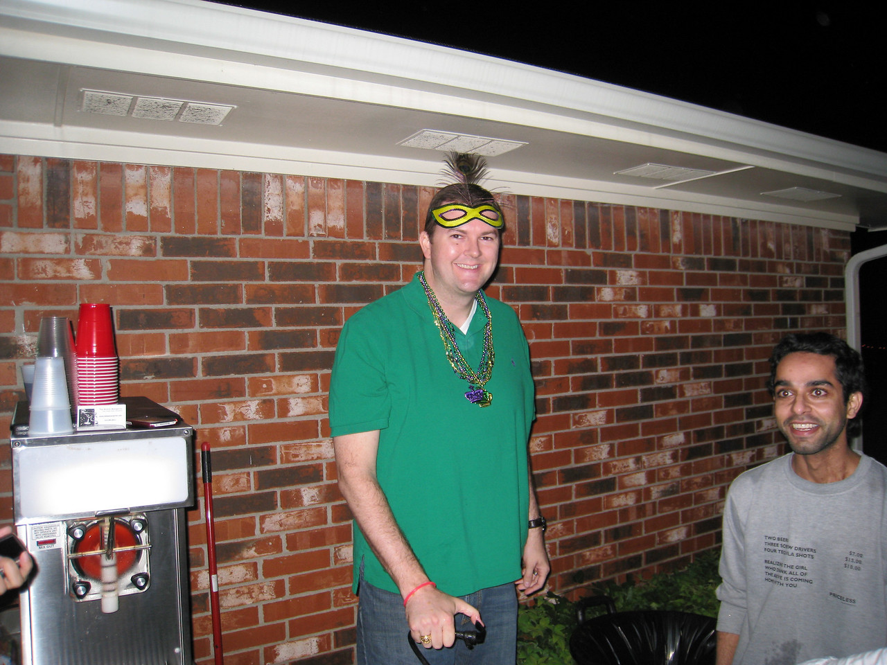 Sean at the Shiner Keg