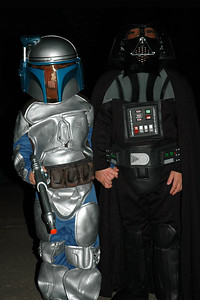 Jack as Darth Vader & Will as Jenga Fett (2)