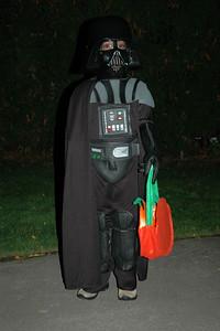 Jack as Darth Vader