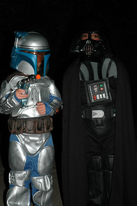 Jack as Darth Vader & Will as Jenga Fett (1)