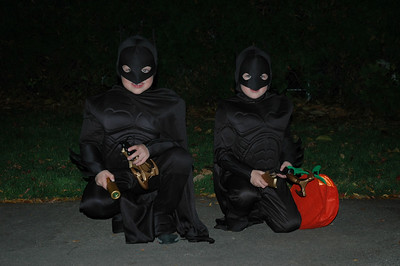 Jack & Will as Batman (1)