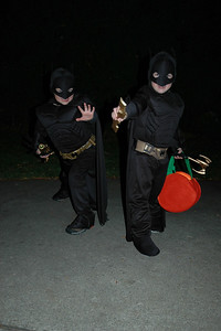 Jack & Will as Batman (2)